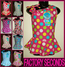 FACTORY SECONDS - SWIMWEAR - Sz 6 8 10 or 12 - Bathers ~ TOGS - BARGAIN ~ NEW