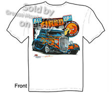 1933 1934 Ford T-shirt, Hot Rod Wear, 33 34 Coupe Tee, Sz M L XL 2XL 3XL Quality
