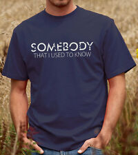 Somebody That I Used To Know T-shirt - Gotye Kimbra Tee Shirt Tshirt (D021)