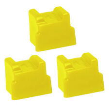 3 Compatible Yellow Solid Ink Sticks for Xerox Phaser 8500/8550 Printers