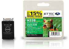 Remanufactured Jettec HP338 Black Ink Cartridge for PSC 1500 & more