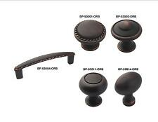 Amerock Oil Rubbed Bronze Cabinet Hardware Knobs & Rope Pulls