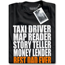 Best Dad Ever Fathers Day Birthday Christmas Present Gift Mens Black T-Shirt NEW