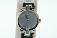 Seiko Women's SUJ707 Stainless Steel Blue Mother of Pearl Dial Watch