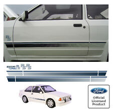 Ford Escort Mk3 RS Turbo Stripe Kit Decals Stripes RS S1 Series One
