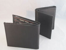 Mens leather wallet trifold bifold zipper excellent quality comes in a gift box