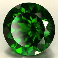 AAA Rated Round Faceted Bright Emerald Green Cubic Zirconia (1mm-20mm)