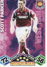 Match Attax 09/10 West Ham Cards Pick Your Own From List
