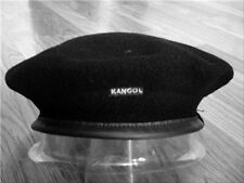 Mens Classic  Kangol  Wool  Monty  Military  Beret  Color  Black