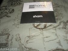 New JC Penny's Home Collection Victorian Toile/Faux Suede/Shabby Country Shams