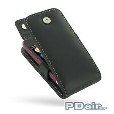 Leather Case for Nokia Asha 311 (Flip Top T41 with Clip) by PDair