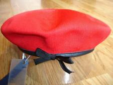 Mens Classic  Kangol  Tropic  Monty  Military  Beret  Color  Red