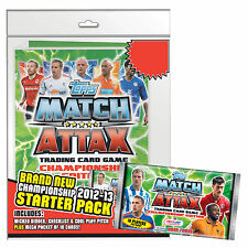 Match Attax Championship 2012/2013 12/13 Star Player Cards Barnsley - Derby Co