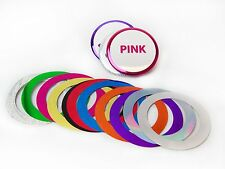 """2-1/4"""" 2.25"""" Standard Mylar Accent Rings for Button Making Machines - 100 pcs"""