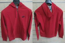 BRAND NEW NIKE HOODY TOP MENS CLOTHING UK S-L RED RRP £45 TRACK TOP HOODIE RARE