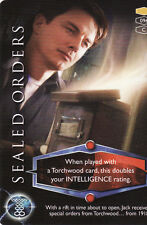 Torchwood Common Trading Cards Pick From List 096 To 126
