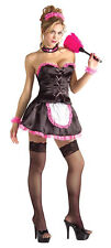 Pinkie the French Maid Upstairs Chamber Sexy Dress Up Halloween Adult Costume