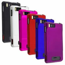 Rubber Hard Snap-On Case Cover For Motorola Droid X MB810 / Droid X2 Daytona