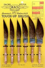 Mack Sword Striper Series 20 Squirrel Hair Pinstriping Sign Brushes All Sizes