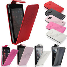 Etui Housse Coque en cuir PU pour Samsung Galaxy S2 II i9100 + 3 Film Protection