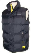 CATERPILLAR MENS GILET PADDED BODYWARMER PINNACLE BLACK STORMBLOCKER SIZES M-XXL
