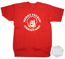 Funny Mrs Browns Boys Merry Feckin Christmas TV DVD t-shirt All Sizes & Colours!