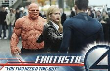Fantastic 4 Movie Trading Cards Pick From List