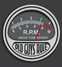 OLD GUYS RULE NEED FOR SPEED CHARCOAL CLASSIC TEE SHIRT