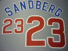 CHICAGO CUBS Number KIT For Authentic ROAD AWAY GRAY JERSEY ANY NAME OR NUMBER