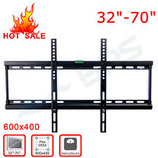 "New 10""-70"" LCD LED Plasma Monitor Flat TV Wall Mount Bracket Tilt Swivel VESA"