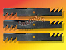 """Great Dane, 3 Commercial Blades 52"""" Cut fits Other Lawn & Garden Equipment"""