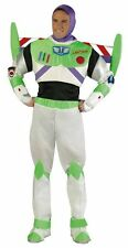 Buzz Lightyear Toy Story Astronaut Space Dress Up Halloween Deluxe Adult Costume