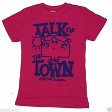 New Authentic Junk Food Little Miss Chatterbox Talk of the Town Girls T-Shirt