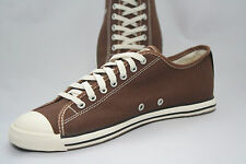 "WOMEN'S Converse Chuck Taylor ALL STAR Slim fit Brown Off White Lo ""Dainty Look"""