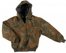 Rasco Fire Retardant CAMO Insulated Hooded Jacket