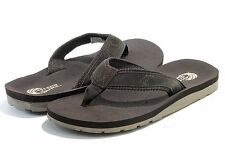 Island Surf Men's Fashion Sandals Classic Brown Flip Flop Shoes
