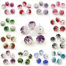 5/10/20/40X Crystal Rhinestone Disco Ball Fit Shamballa Bracelet Gradient Color
