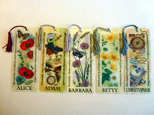 History & Heraldry 3D Personalised Bookmarks - Names: A - C