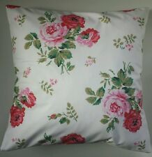 """Cushion Cover Made in Cath Kidston Antique Rose White 14"""" 16"""" 18"""" 20"""""""
