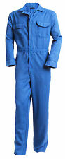 Tecgen Select FR Royal Blue 5.5 oz. Deluxe Coverall Flame Resistant