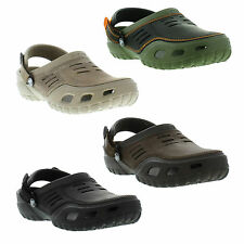 Crocs Yukon Sport Clog / Leather / Croslite, Mules Shoe Mens Sizes UK 7 - 13