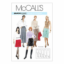 McCall's 3341 Sewing Pattern to MAKE Misses Quick and Easy A-Line Skirts
