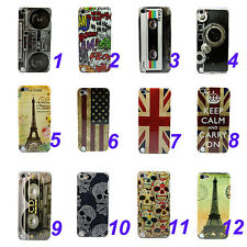 Various Pattern Hard Skin Case Cover For Apple iPod Touch 5 5TH 5G Gen
