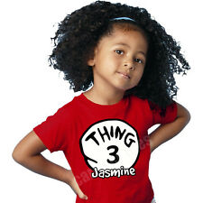 THING SHIRTS 1 2 3 4 5 6 PERSONALIZED NAME tee shirt