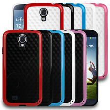Patterned Bumper Style Gel Case Cover Skin Fits Samsung Galaxy S4 i9500 Phone