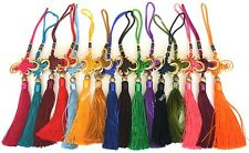 CHINESE RED KNOT COLOR TASSELS WEDDING PARTY CRAFT CARD MAKING BIRTHDAY GIFT
