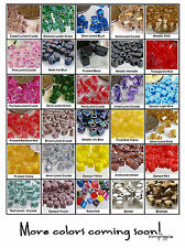 Miyuki Shoji 4mm Cube/Square Glass Beads 50 Choose Color