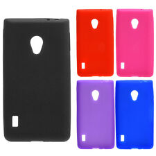 New Silicone Protective Skin Rubber Soft Cover Case For Verizon LG Lucid 2 VS870