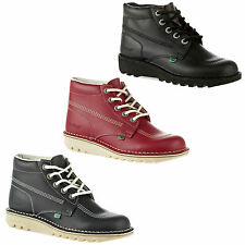 Kickers Kick Hi Mens Classic Lace-up Boots School Work Formal Sizes UK 6-12
