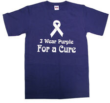 Lupus Youth Size T-shirt I Wear Purple for a Cure